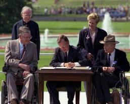 ADA_Bush-Signing