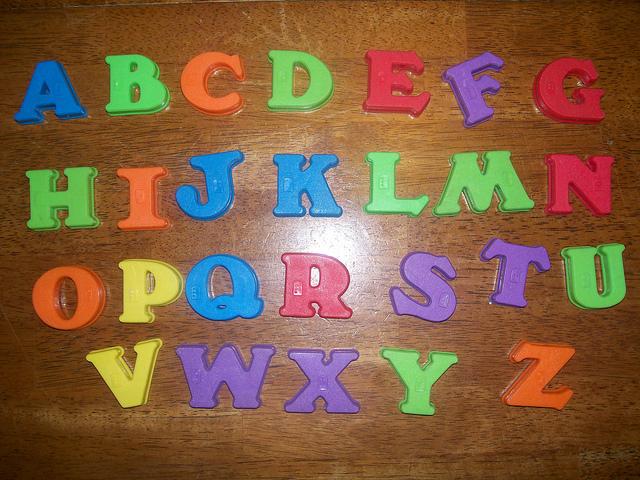 alphabet-english