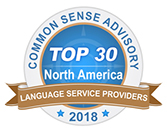 Common Sense Advisory Top 30 Language Service Providers 2018