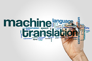 Machine translation is now starting to play an important role in the future of translation