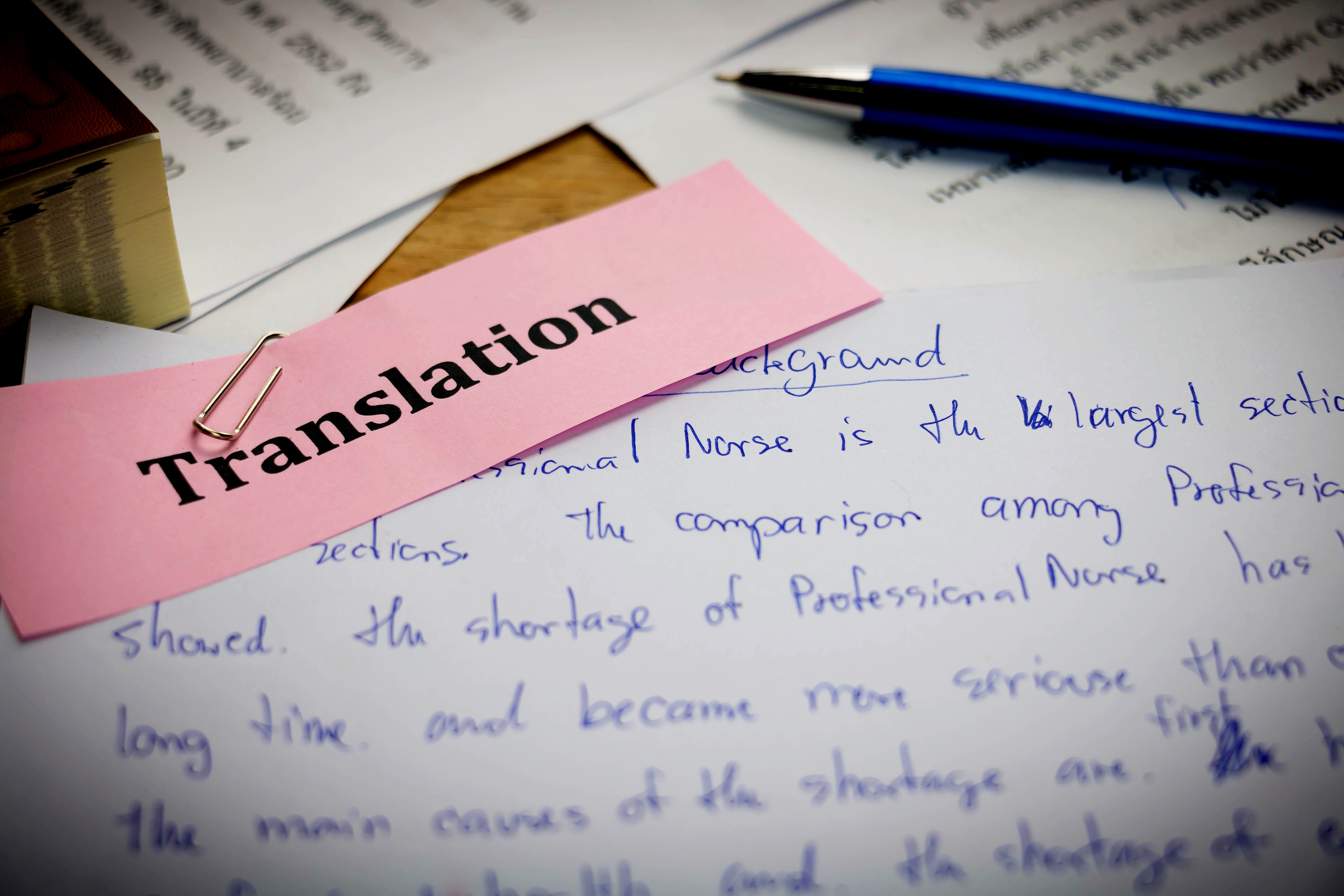 The Difference Between Translation Errors and Preferential Changes -  Affordable Language Services